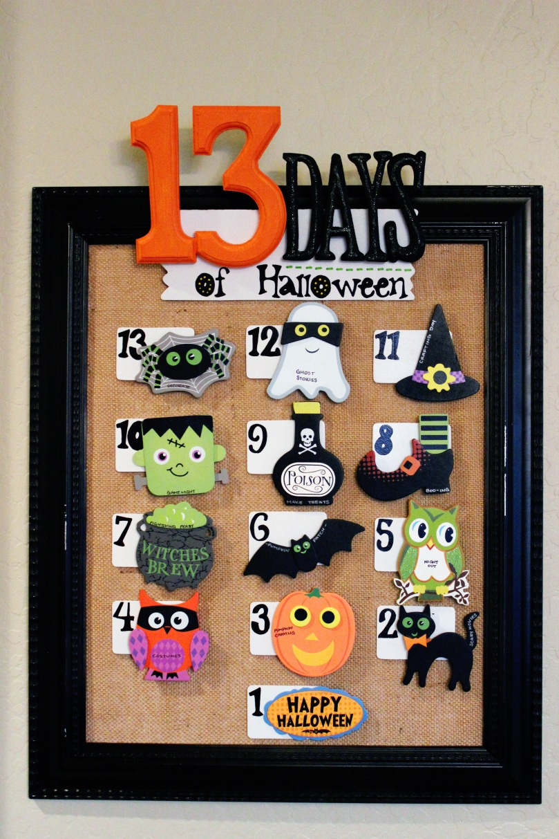 13 Days of Halloween Countdown 30
